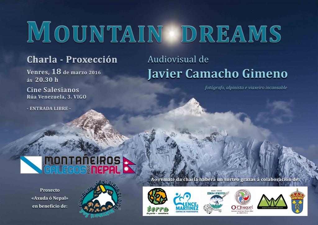 Cartel_ MOUNTAIN DREAMS_ Vigo, 18-03-2016